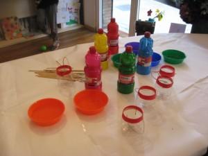Dipingiamo i vasetti